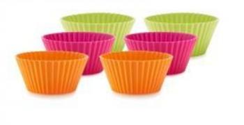 silikownowe foremki wielokrotnego użytku do muffinek