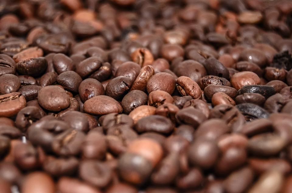 świeża kawa ziarnista
